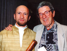 Photo of Michael Reimann & Prof. h.c. Joachim-Ernst Berendt